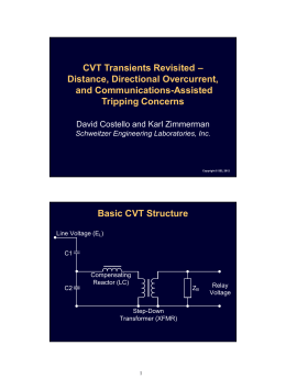 CVT Transients Revisited