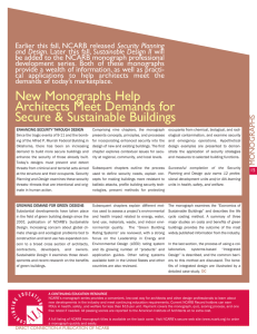 New Monographs Help Architects Meet Demands for Secure