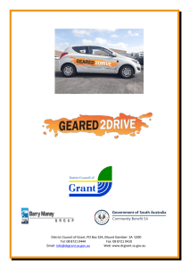 Geared2Drive - District Council of Grant