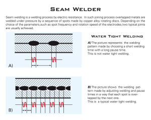 What`s Seam Welding?