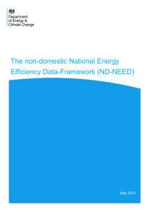 The non-domestic National Energy Efficiency Data
