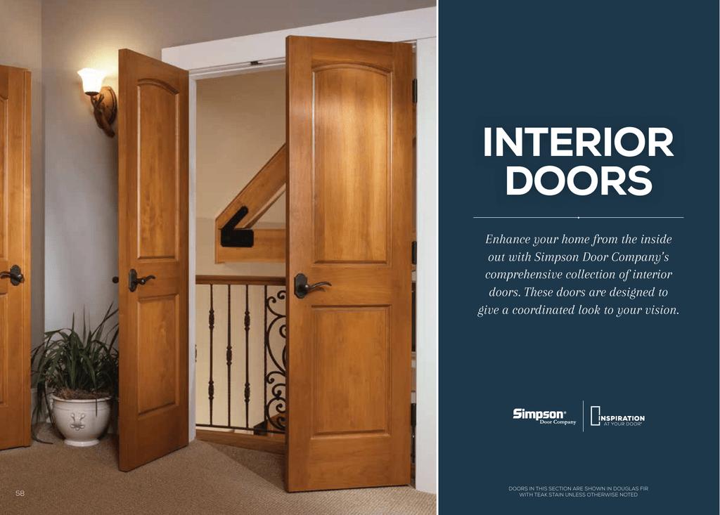 Interior Doors Simpson Doors