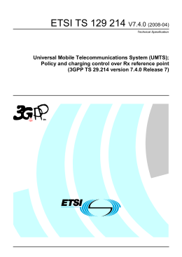 3GPP TS 29.214