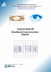 Tutorial Note #3 - SHF Communication Technologies AG