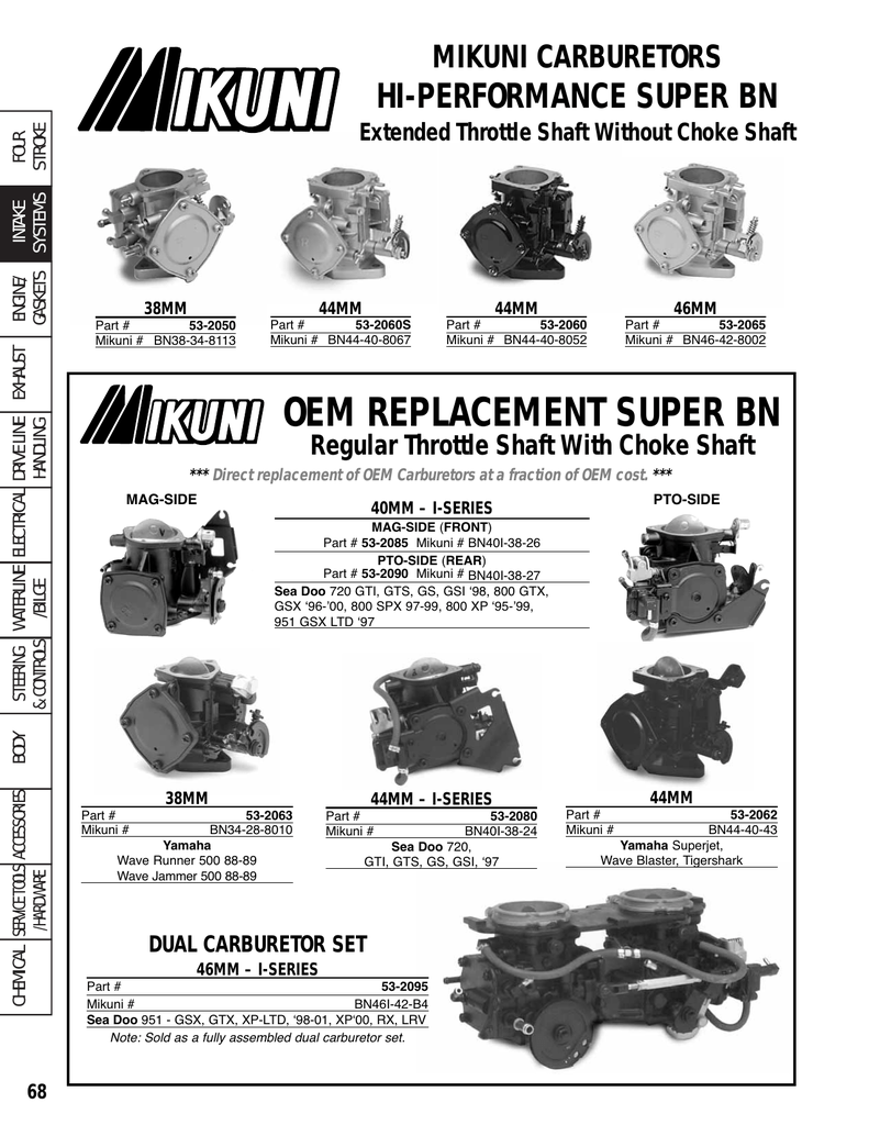 OEM REPLACEMENT SUPER BN
