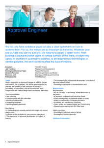 Approval Engineer