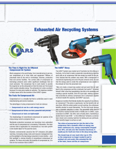 Exhausted Air Recycling Systems