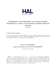 Clarification of the Hall effect as an energy transfer mechanism in a