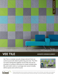 VEE TILE - Kirei USA