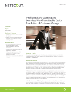 Intelligent Early Warning and Seamless Workflows Enable Quick