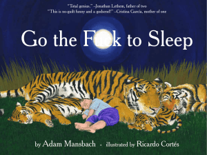 Go the F to Sleep - Parenting Express