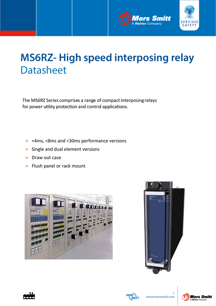 interposing relay wiring diagram ms6rz high speed interposing relay datasheet  ms6rz high speed interposing relay
