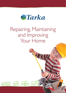 Repairing, Maintaining and Improving Your Home