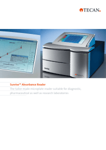 The tailor-made microplate reader suitable for diagnostic
