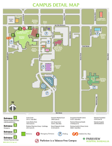 campus detail map