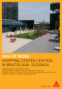 Sika ConstructioNEWS