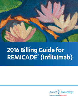 Billing Guide for REMICADE