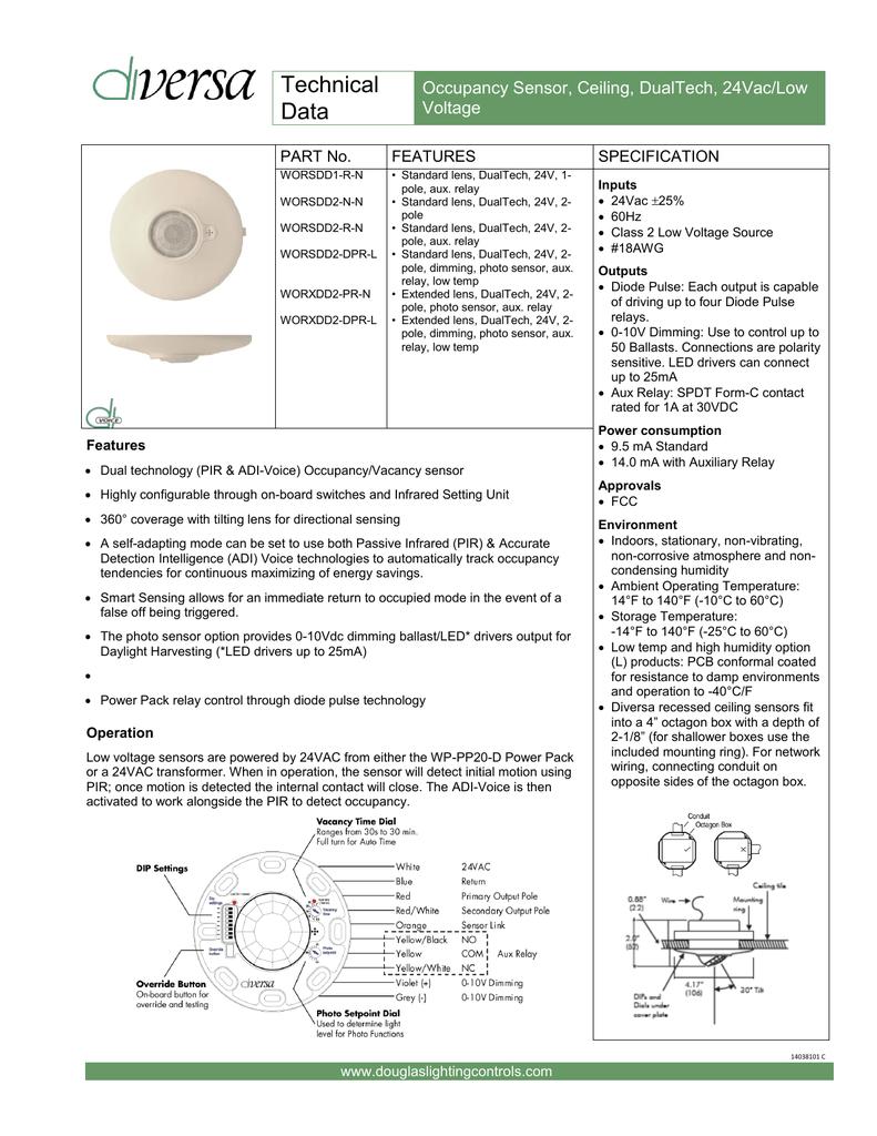 Awe Inspiring Technical Data Douglas Lighting Controls Wiring Cloud Pendufoxcilixyz