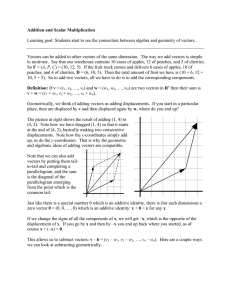 Notes 05--Vector Arithmetic