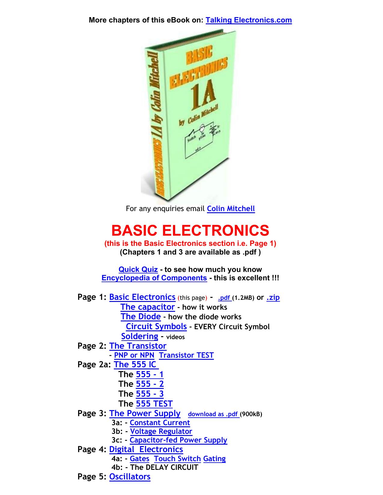 f5b5e3c1efc8b5 basic electronics - Talking Electronics