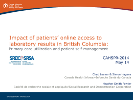 Impact of patients` online access to laboratory results in British