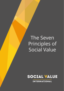 The Seven Principles of Social Value