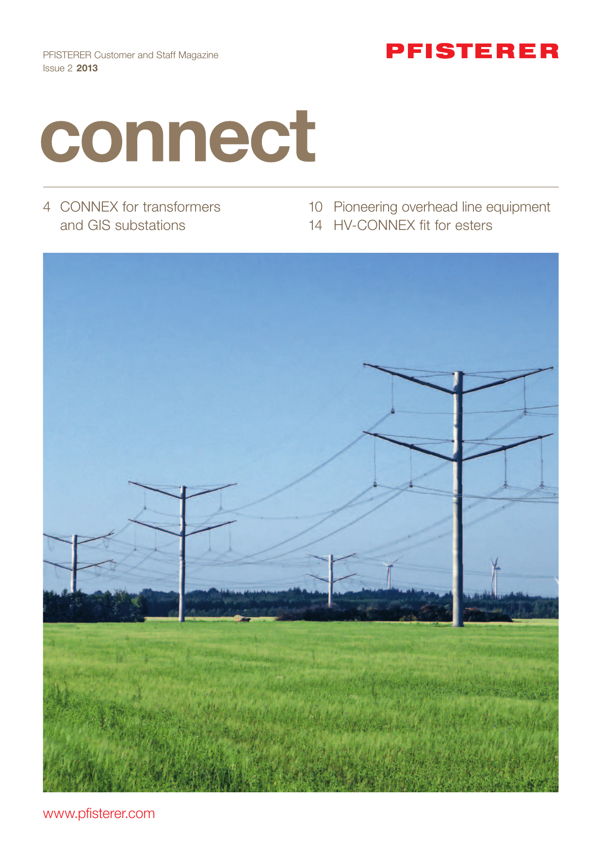 Www Pfisterer Com 4 Connex For Transformers And Gis Substations