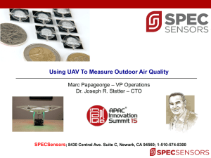 Spec Sensors, LLC - APAC Innovation Summit 2016