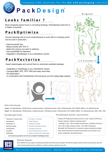 Looks familiar ? PackVectorize PackOptimize