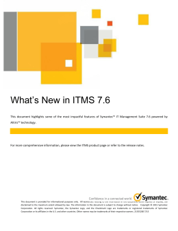 What`s New in ITMS 7.6