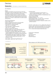 Technical Manual for LPG detector 230V grey