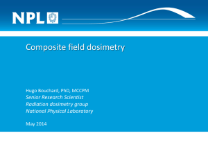 Composite field dosimetry - National Physical Laboratory