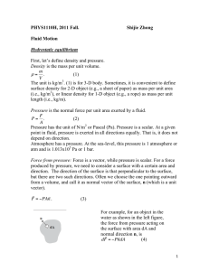 notes11 Fluid Motion