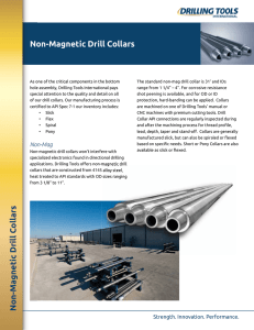 Non-Magnetic Drill Collars - Drilling Tools International