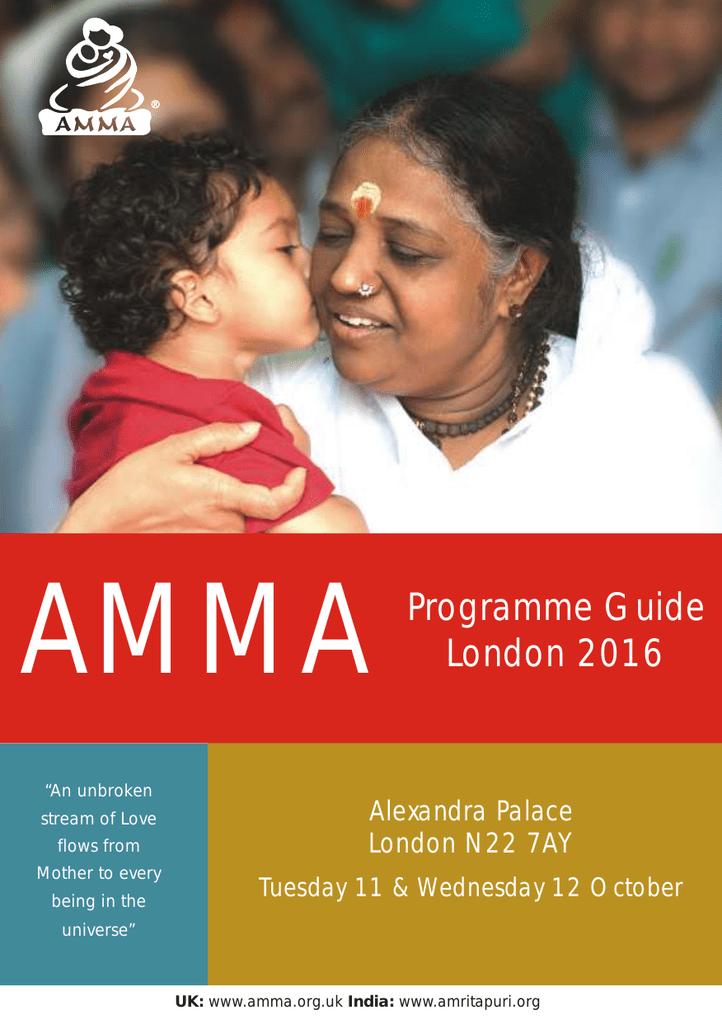 Programme Guide London 2016