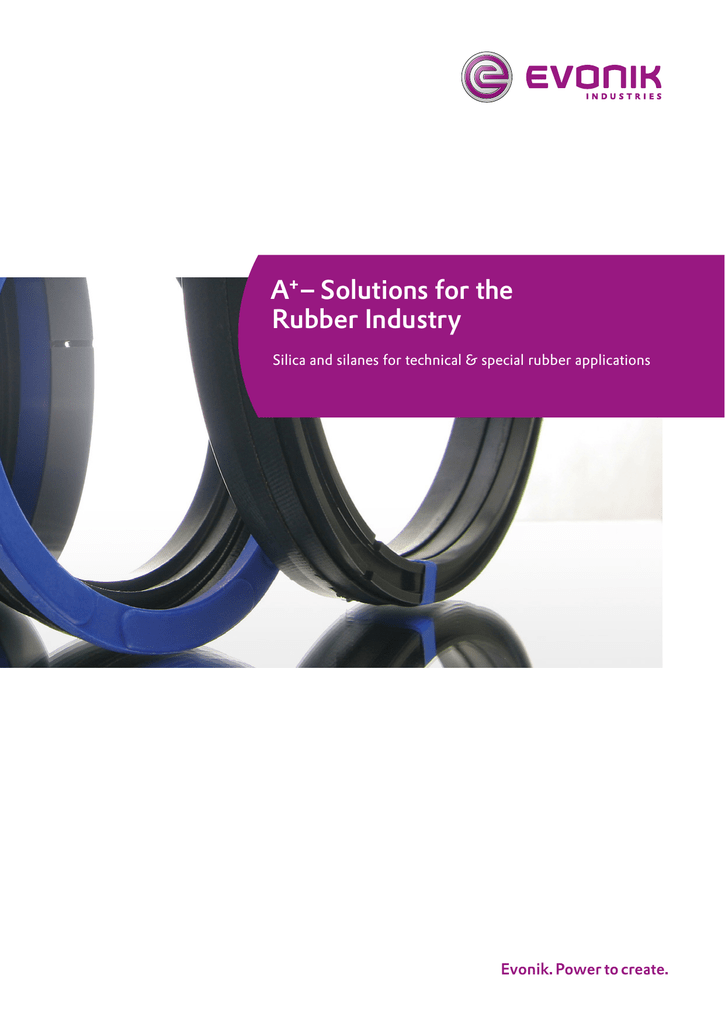 A+– Solutions for the Rubber Industry