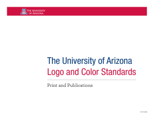 The University of Arizona Logo and Color Standards