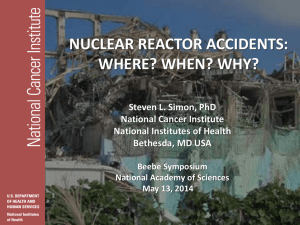 NUCLEAR REACTOR ACCIDENTS: WHERE? WHEN? WHY?
