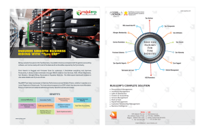 "ENSURES SMOOTH BUSINESS RIDING WITH ""Tyre ERP"""