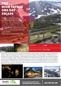 the high tatras one day escape