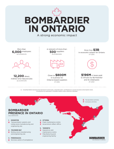 Bombardier in Ontario (English)