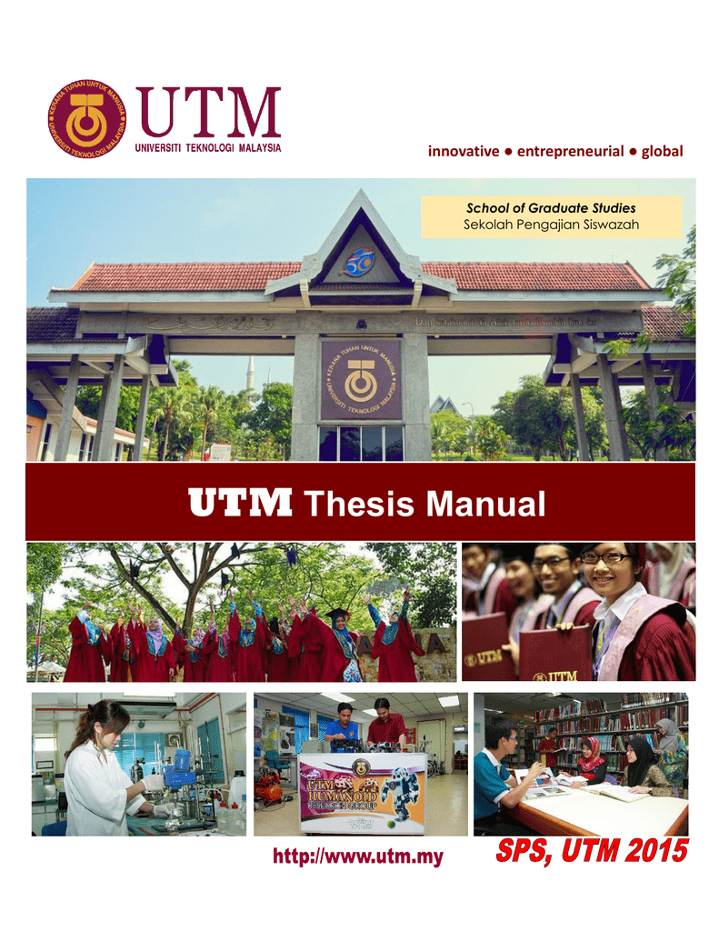 Thesis utm manual research papers on fish meat quality