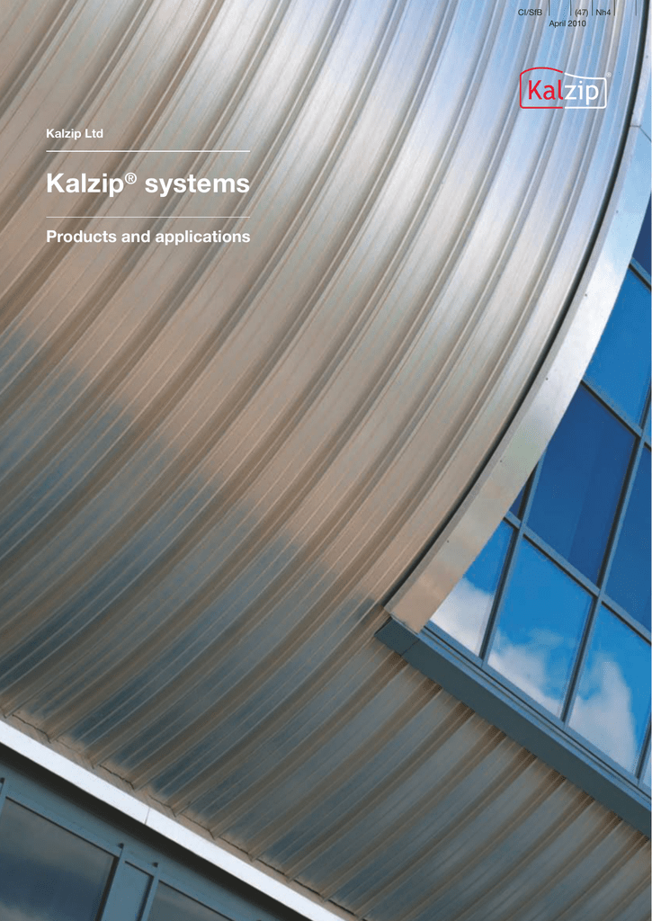 Kalzip Metal Roofing Amp Kalzip Aluminium Standing Seam