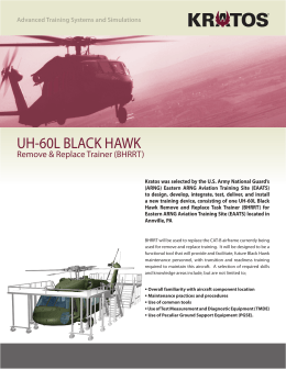 UH-60 Black Hawk Remove and Replace Trainer