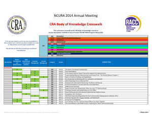 NCURA 2014 Annual Meeting - Research Administrators