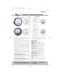 Magnehelic® Differential Pressure Gage