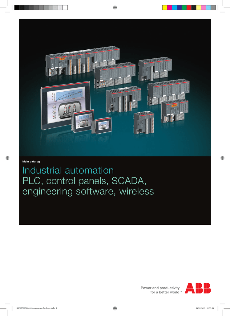 Industrial automation PLC, control panels, SCADA, engineering