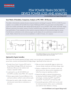 psw power train discrete – device power loss and analysis