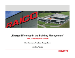 RAICO USA Austin - Atlanta/GACC South