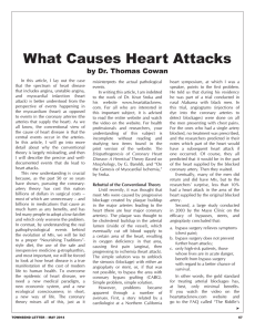 What Causes Heart Attacks